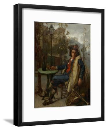 Young Italian Street Musician, C.1877