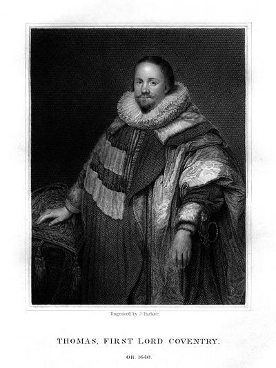 Thomas Coventry, First Lord Coventry-J Parker-Giclee Print