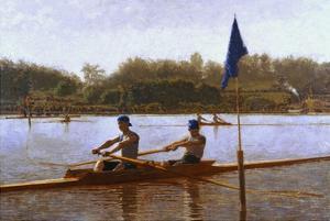 Biglen Brothers Turning the Stake by Thomas Cowperthwait Eakins