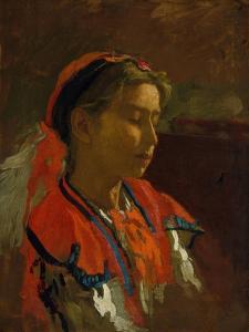 Carmelita Requena, 1869 by Thomas Cowperthwait Eakins