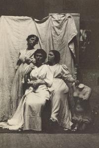 Cook Cousins in Classical Costume in Eakins's Chesnut Street Studio, c.1892 by Thomas Cowperthwait Eakins
