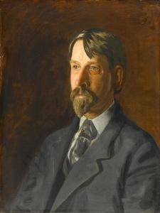 Dr. Albert c.Getchell, 1907 by Thomas Cowperthwait Eakins