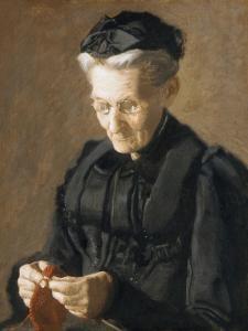 Mrs. Mary Arthur, 1900 by Thomas Cowperthwait Eakins