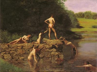 Swimming Hole, 1885