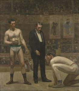 Taking the Count, 1898 by Thomas Cowperthwait Eakins