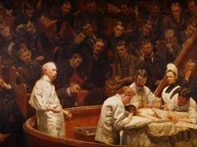 The Agnew Clinic by Thomas Cowperthwait Eakins