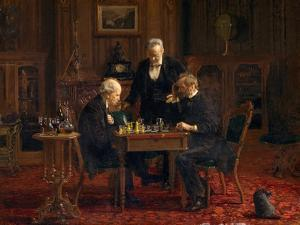 The Chess Players, 1876 by Thomas Cowperthwait Eakins