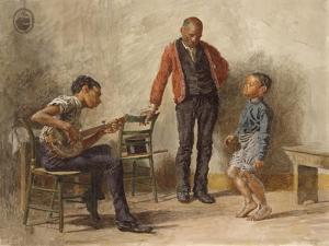 The Dancing Lesson, 1878 by Thomas Cowperthwait Eakins
