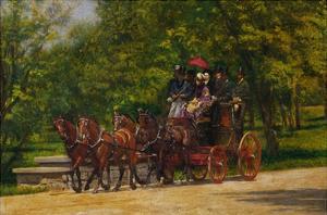 The Fairman Rogers Four-in-Hand by Thomas Cowperthwait Eakins