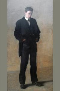 The Thinker - Louis N. Kenton by Thomas Cowperthwait Eakins