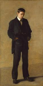 The Thinker: Portrait of Louis N. Kenton, 1900 by Thomas Cowperthwait Eakins