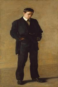 The Thinker: Portrait of Louis N. Kenton, 1900 by Thomas Cowperthwait Eakins
