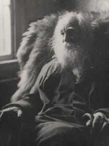 Walt Whitman, 1891 by Thomas Cowperthwait Eakins