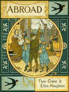 Abroad - book cover by Thomas Crane