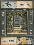 Floral Decoration and a Verse. Illustration From London Town'-Thomas Crane-Giclee Print