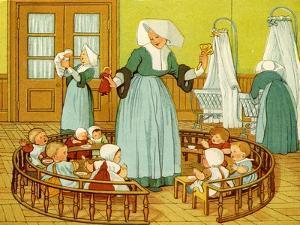 Creche of Sister Rosalie by Thomas Crane