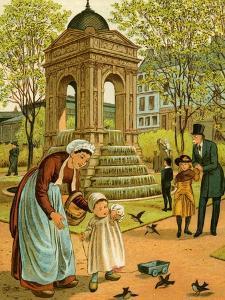 La Fontaine des Innocents by Thomas Crane