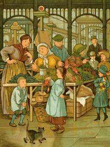 Paris covered market by Thomas Crane