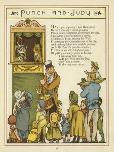 Punch and Judy by Thomas Crane
