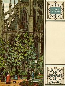 Rouen by Thomas Crane