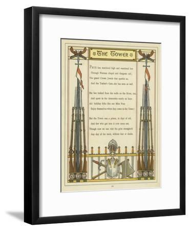Verse About the Tower of London with Images of Armour and Weaponry