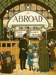 Victorian holidays - boarding the train by Thomas Crane