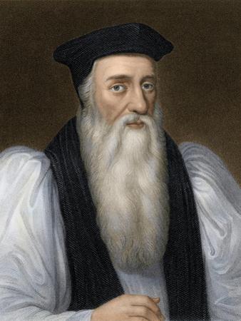 Thomas Cranmer, Archbishop of Canterbury, Executed for Heresy under Mary I