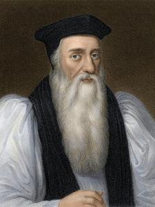 Thomas Cranmer, Archbishop of Canterbury, Executed for Heresy under Mary I