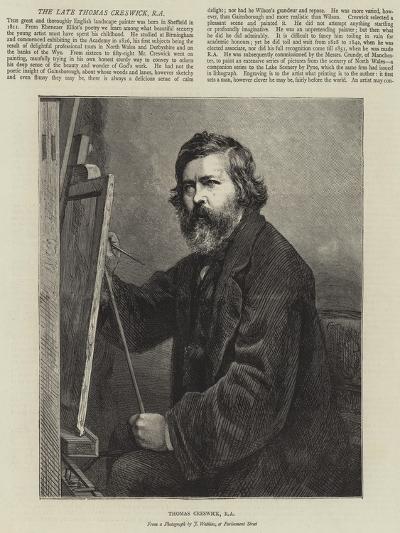 Thomas Creswick--Giclee Print