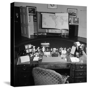 Oval Office Desk Belonging to the Late President Franklin D. Roosevelt by Thomas D. Mcavoy