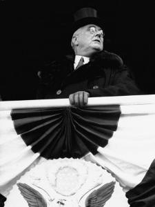 President Franklin D. Roosevelt During His Inauguration by Thomas D. Mcavoy