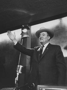 Senator Hubert H. Humphrey at the Western States Democratic Conference by Thomas D. Mcavoy