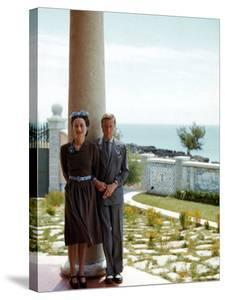 The Duke and Duchess of Windsor, aka Wallis Simpson by Thomas D. Mcavoy