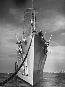 View of a US Navy Vessel by Thomas D. Mcavoy