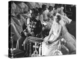 Wedding of Prince Rainier of Monaco to American Actress Grace Kelly by Thomas D. Mcavoy