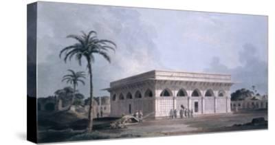 Chaunsath Khamba, Nizamuddin, New Delhi (Coloured Aquatint)