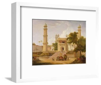 Indian Temple, Said to Be the Mosque of Abo-Ul-Nabi, Muttra, 1827