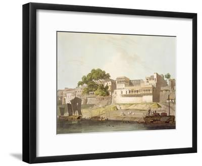 Part of City of Patna, on River Ganges, from 'Oriental Scenery: Twenty Four Views in Hindoostan'