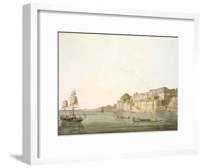 Ramnugur, near Benares, on River Ganges, from 'Oriental Scenery: Twenty Four Views in Hindoostan'