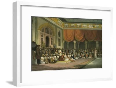 Sir Charles Warre Malet, Concluding a Treaty in 1790 in Durbar with the Peshwa