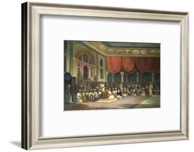 Sir Charles Warre Malet, in 1790 Concluding a Treaty in Durbar with Souae Madarow