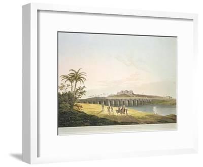 The Armenian Bridge, Madras, From 'Oriental Scenery: Twenty Four Views in Hindoostan', engraved by