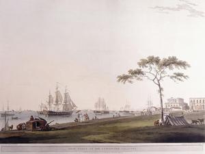 View Taken on the Esplanade, Calcutta, 1797 by Thomas Daniell