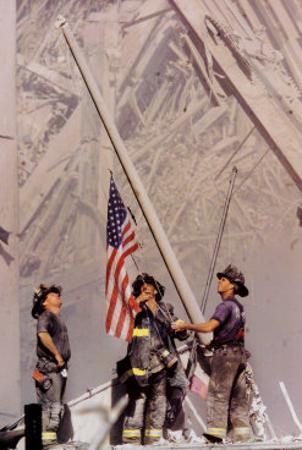 Ground Zero, NYFD by Thomas E^ Franklin