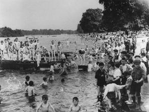 Serpentine Bathers, 1-6 pm by Thomas E. & Horace Grant