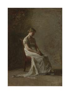 Retrospection by Thomas Eakins