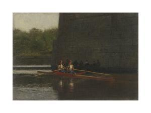 The Oarsmen (The Schreiber Brothers) by Thomas Eakins