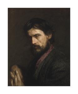 The Veteran (Portrait of George Reynolds) by Thomas Eakins