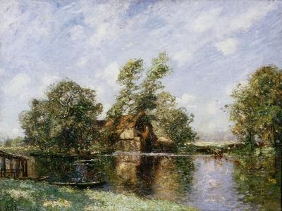 The Old Mill, Houghton, Cambridgeshire, C.1907