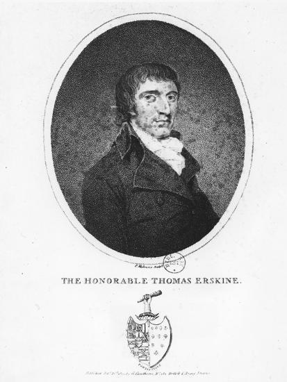 Thomas Erskine, 1st Baron Erskine--Giclee Print